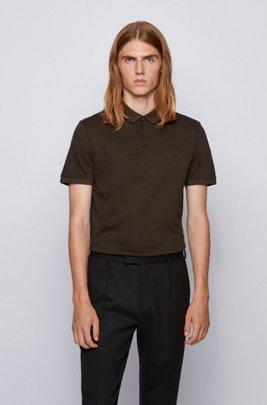 Regular-Fit Poloshirt aus Oxford-Baumwolle , Hellgrün