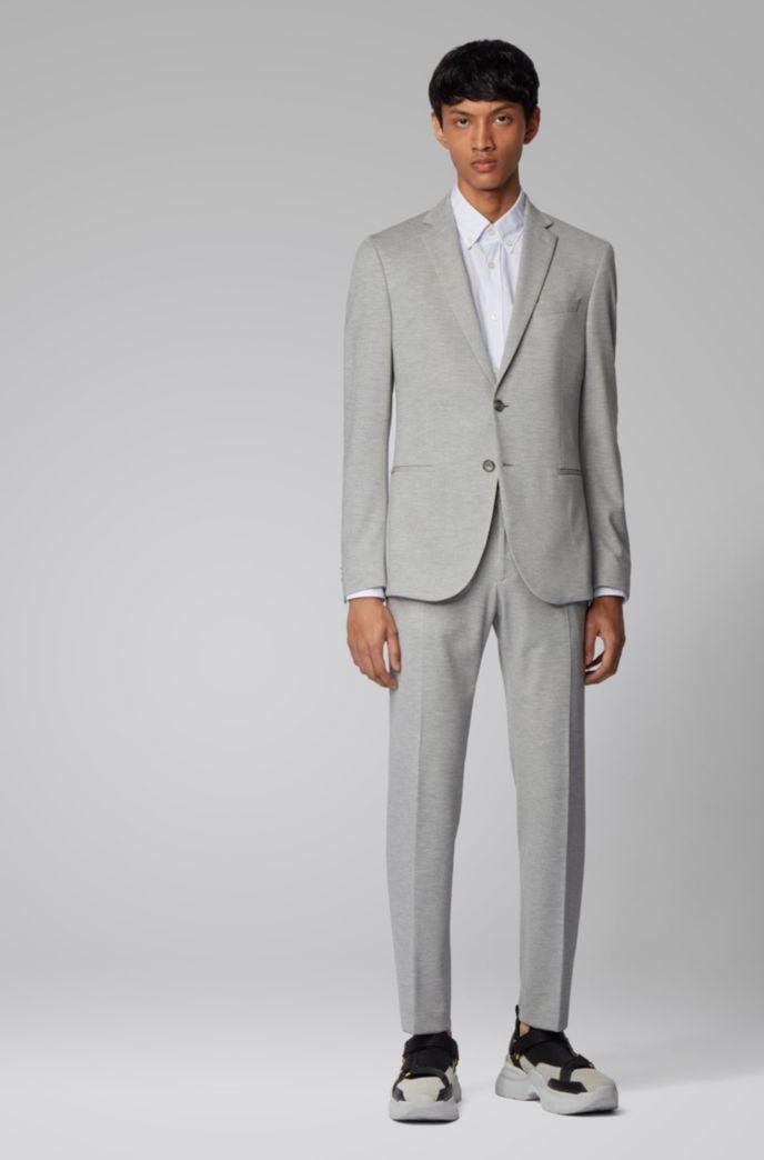 Camicia slim fit button-down in cotone dobby