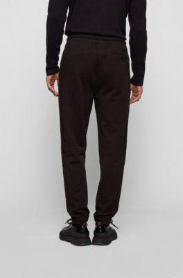Details about  /New Hugo Boss mens black Athleisure tracksuit jogging bottoms trouser pants XL