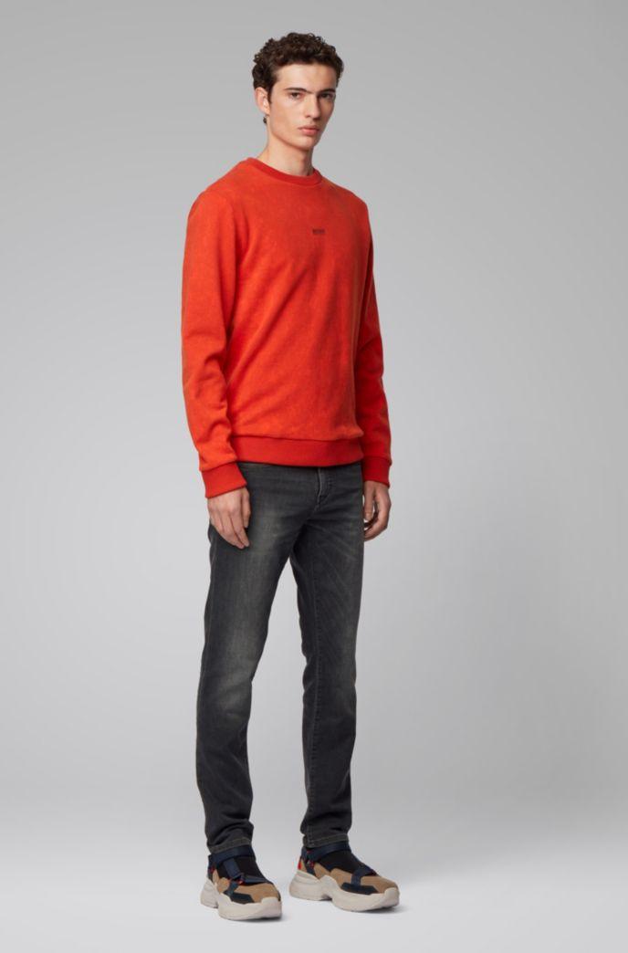 Skinny-Fit Jeans aus gestricktem Stretch-Denim