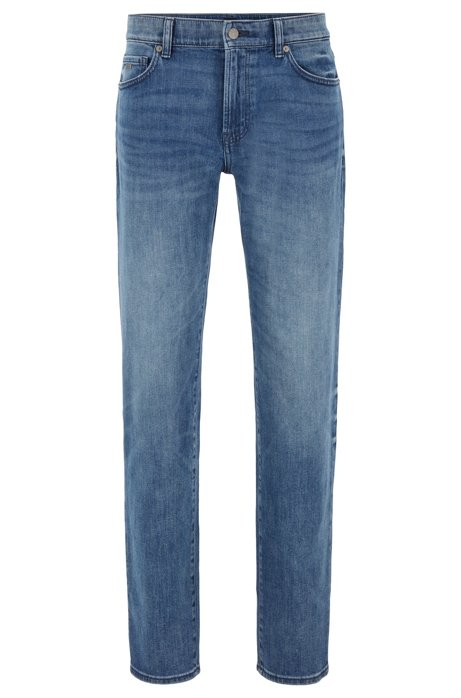 Jean Regular Fit en denim stretch red-cast confortable, Bleu