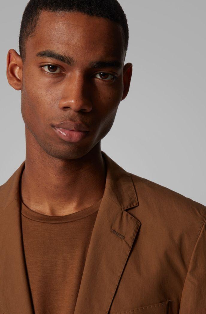 Veste Slim Fit avec doublure à imprimé camouflage