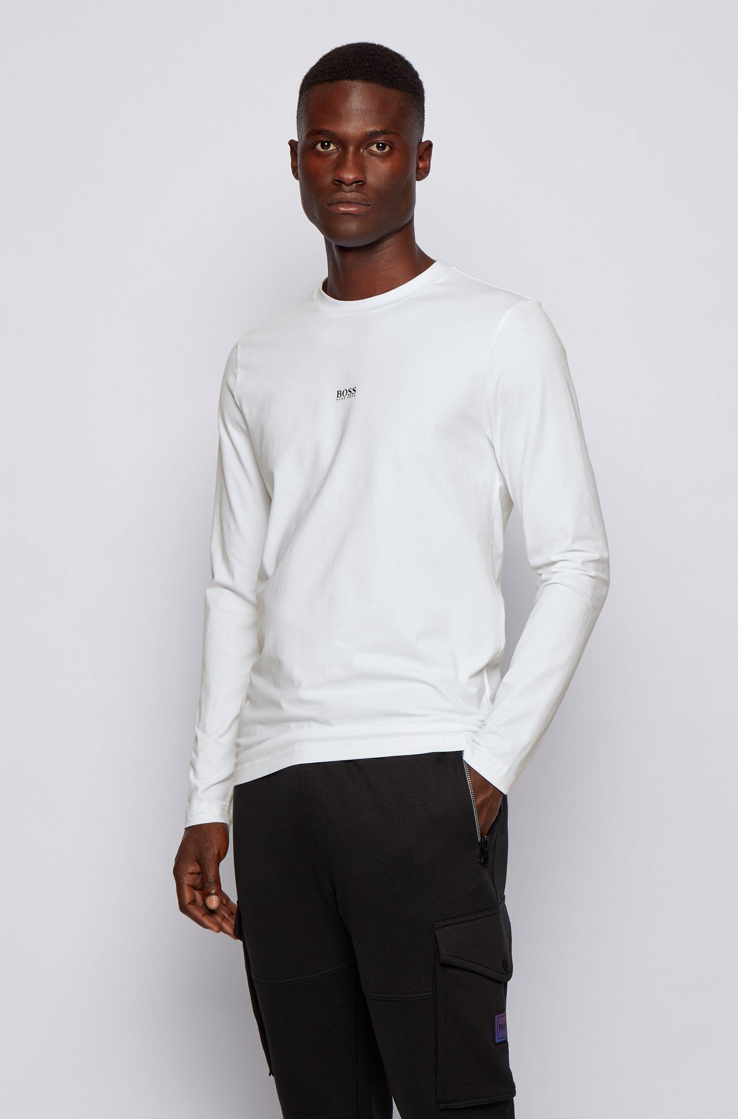HUGO BOSS 雨果博斯 弹力棉 男式T恤 5.2折$28.8起 海淘转运到手约¥199