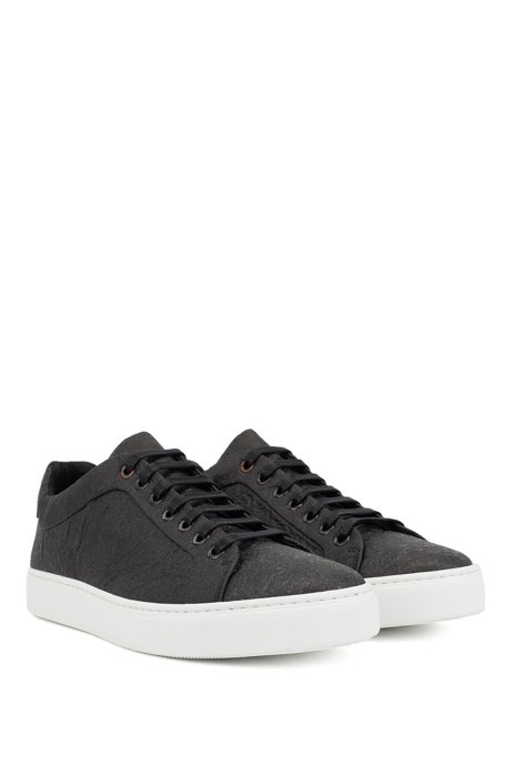 Limited-edition vegan trainers in Piñatex®, Black