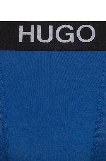 男士两条装弹力棉平纹布运动短裤,  464_淡蓝色
