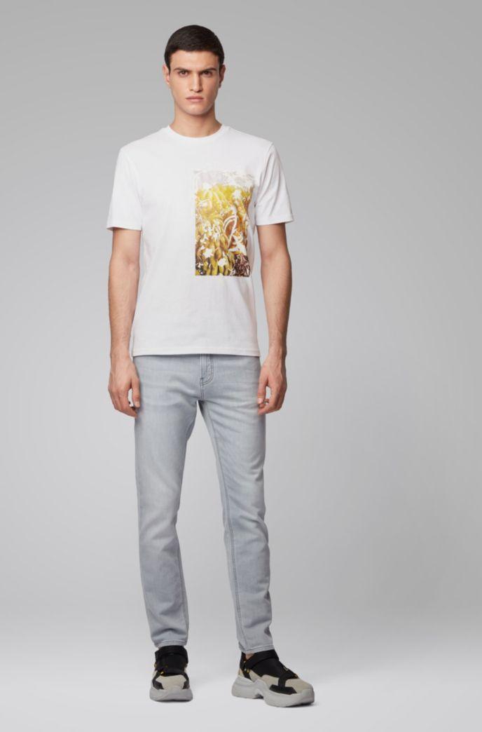 T-Shirt aus Baumwoll-Jersey mit PVC-freiem Foto-Print