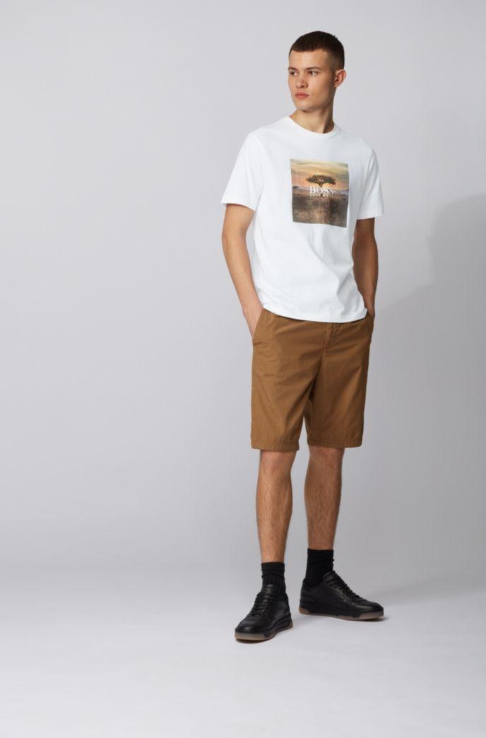 T-Shirt aus Jersey mit PVC-freiem Foto-Print