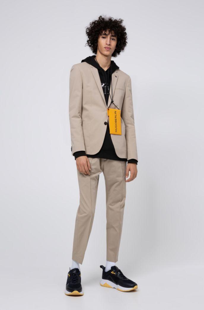 Extra Slim-Fit Hose aus Stretch-Baumwolle mit elastischem Bund