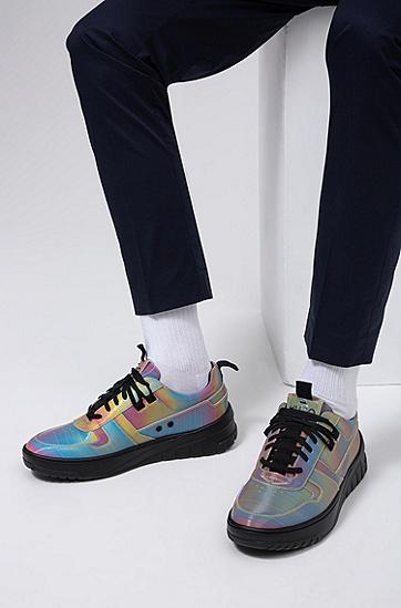男士混色鞋面低帮运动鞋,  960_多色