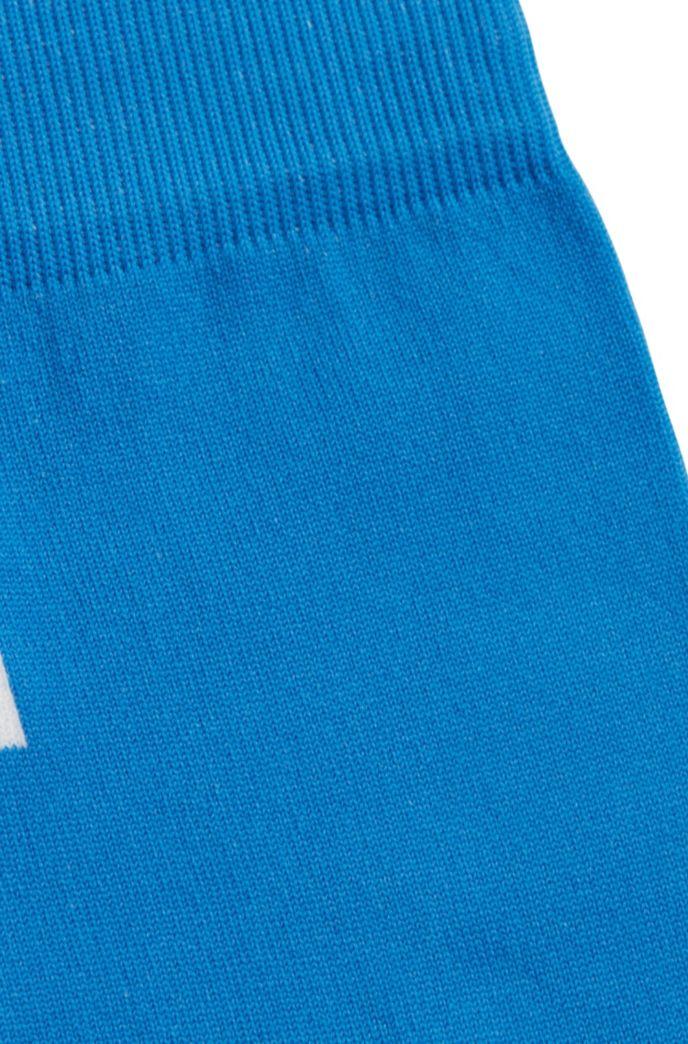 Chaussettes mi-mollet avec monogramme stylisé