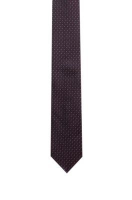 Cravate en jacquard de soie avec motif, Fantaisie