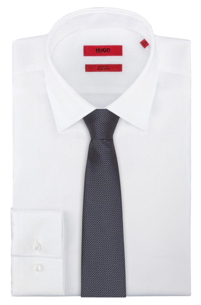 Fein gemusterte Krawatte aus Seiden-Jacquard