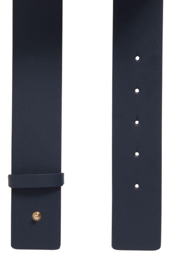 Cintura realizzata in Italia in pelle con fibbia originale