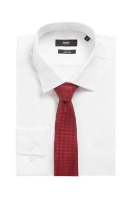Bambini Ragazzi Lucente Camicia Cravatta Set Lilla Nero Grigio Bordeaux