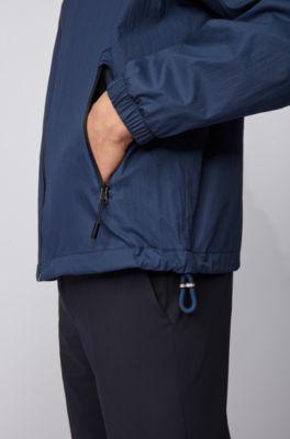 NEW HUGO BOSS MENS DESIGNER GREY JEANS SUIT SPORTS CASUAL SMART JACKET COAT XL