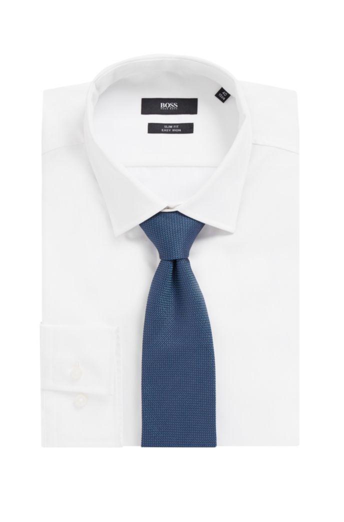 In Italië vervaardigde stropdas van jacquardgeweven zijde