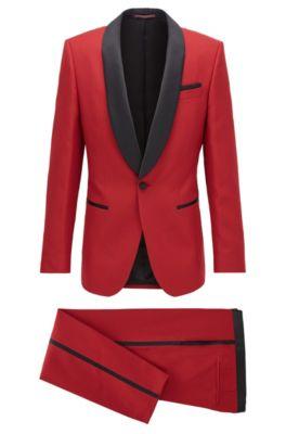 hugo boss red for him