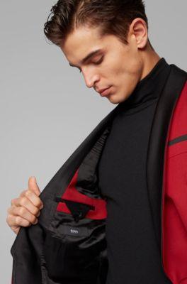 Men S Suits Red Hugo Boss
