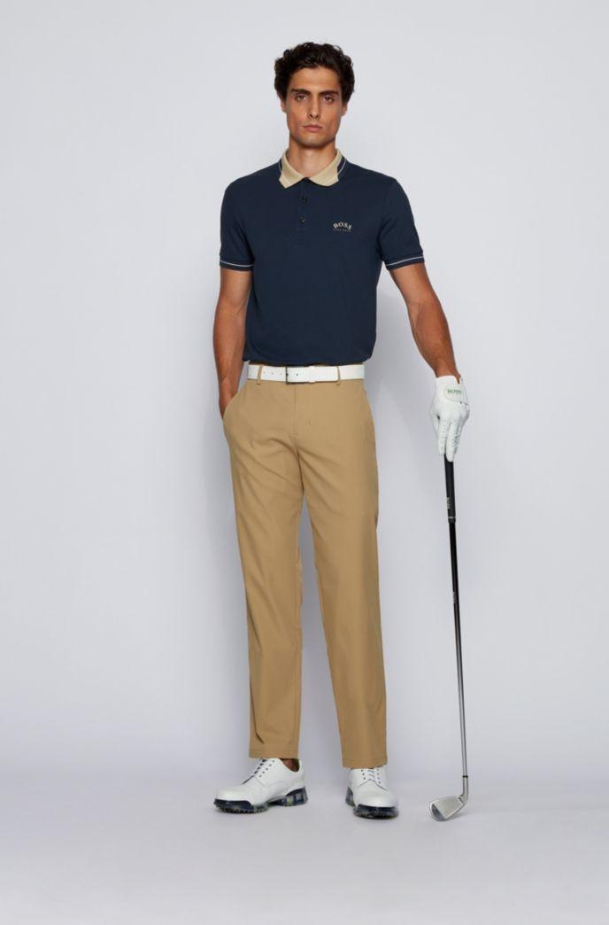 Pantalon Slim Fit en twill technique déperlant
