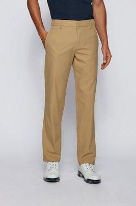 Pantalon Slim Fit en twill technique déperlant, Kaki