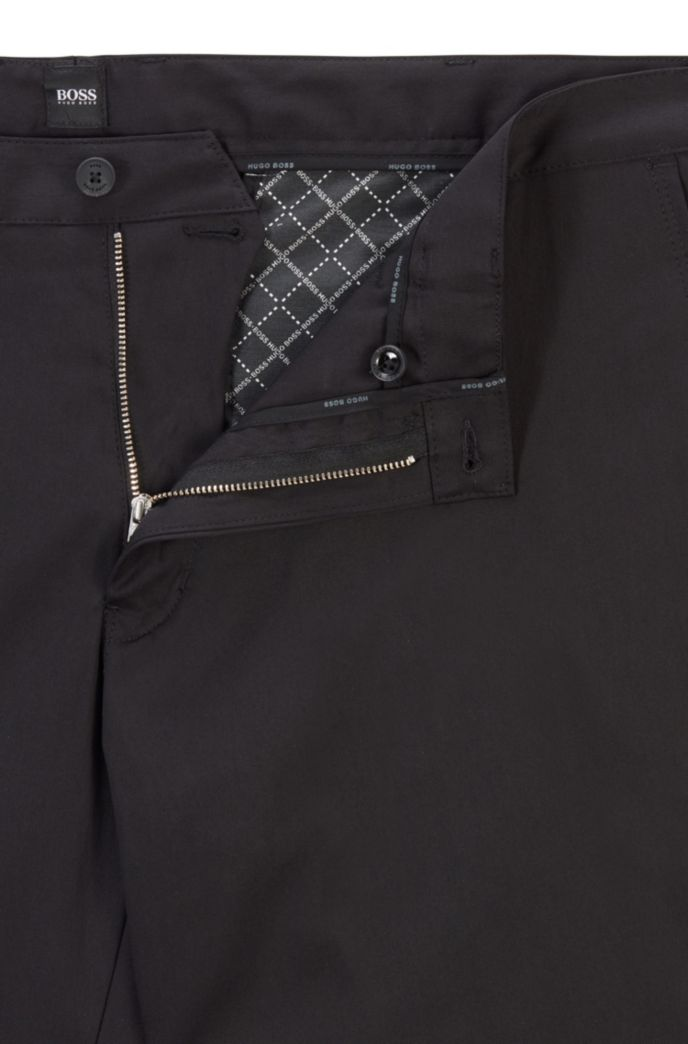 Regular-fit trousers in a stretch-cotton blend