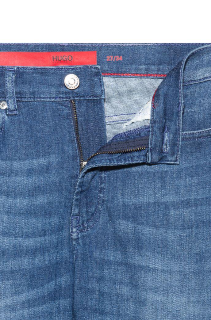CHARLIE Super Skinny-Fit Jeans mit Ringnieten an den Seitennähten