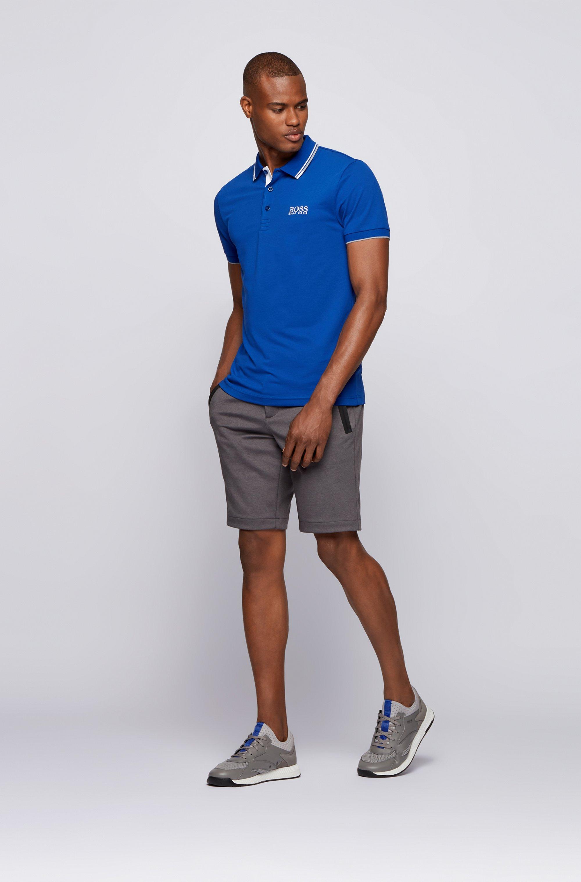 Active-stretch golf polo shirt with S.Café®