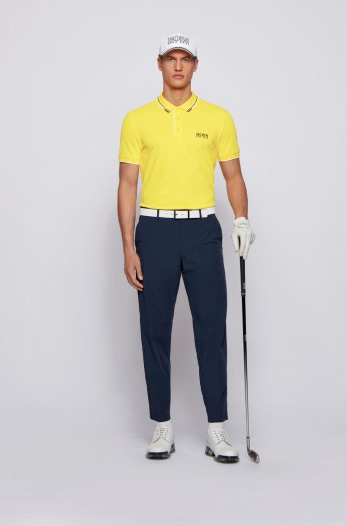 Polo da golf in tessuto elasticizzato attivo con S.Café®