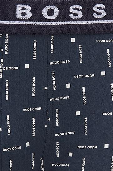 弹力棉平纹布短裤三条装,  970_多色