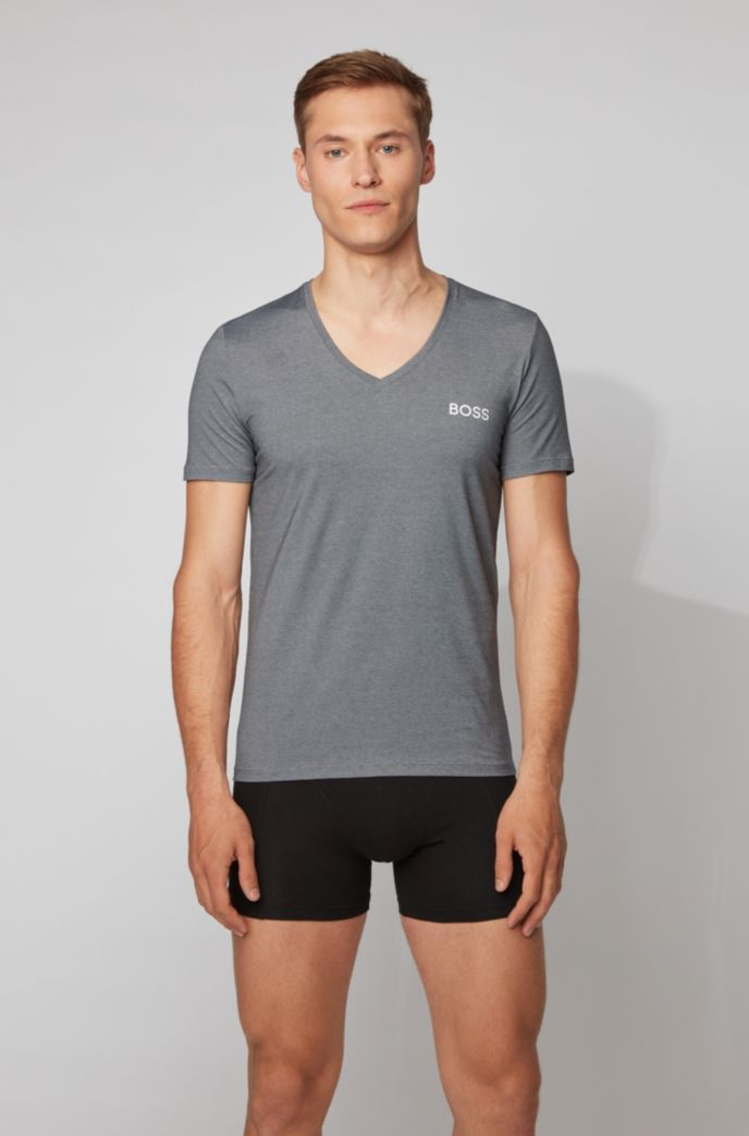 T-shirt en tissu stretch doté de la technologie d'évacuation de l'humidité Coolmax®