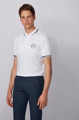 The Open exclusive polo shirt with S.Café®, White