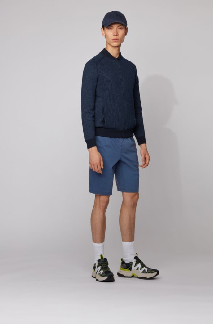 Tapered-Fit Shorts mit Tunnelzugbund