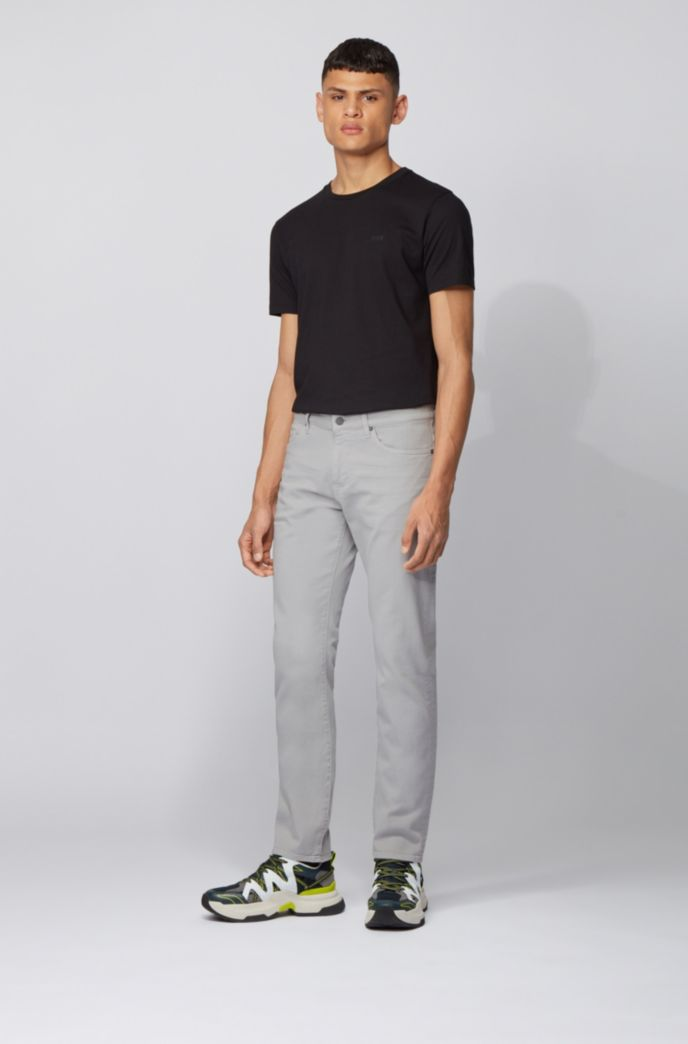 Slim-fit jeans in super-soft Italian stretch denim