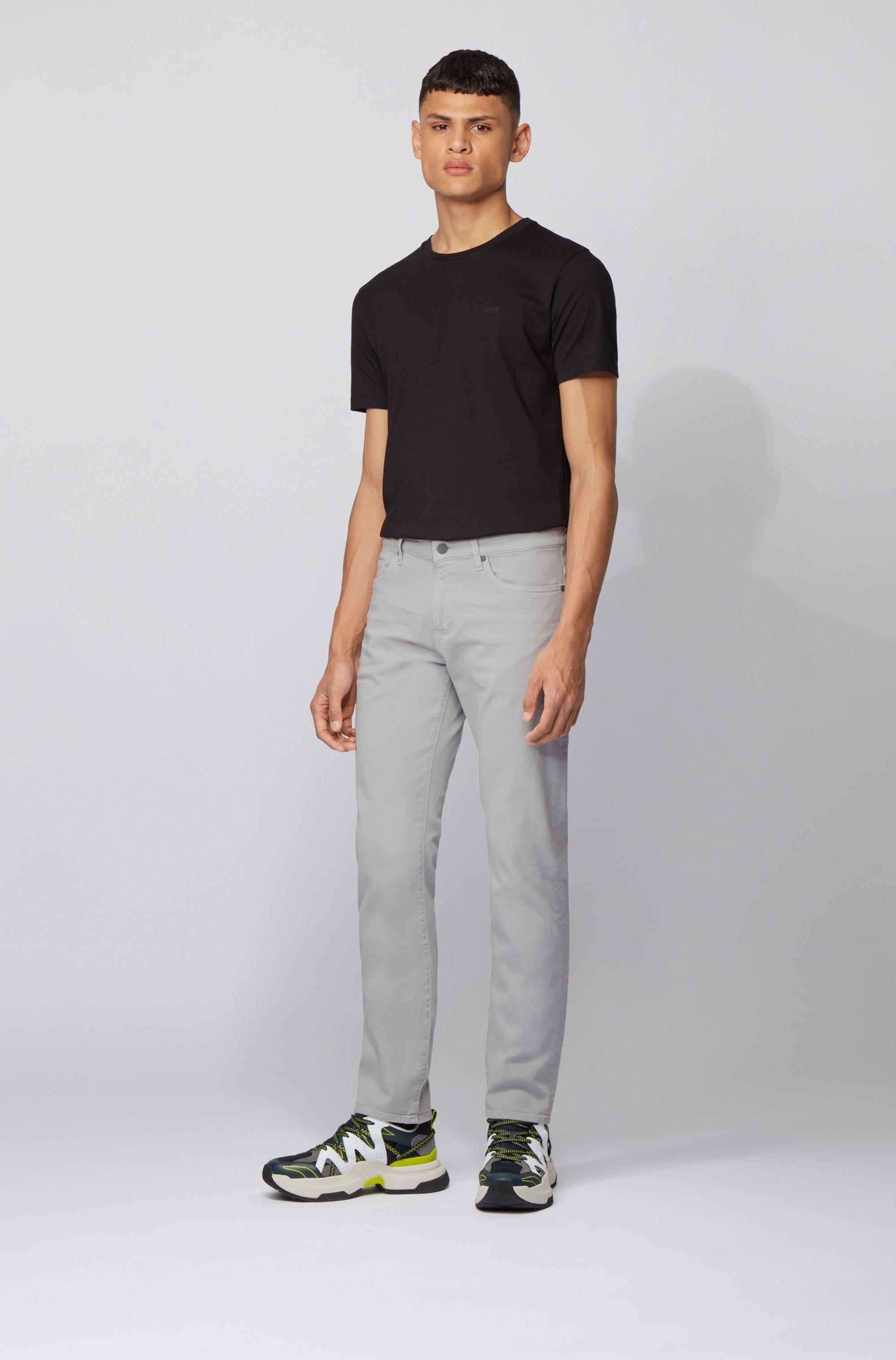 Slim-Fit Jeans aus besonders softem italienischem Stretch-Denim