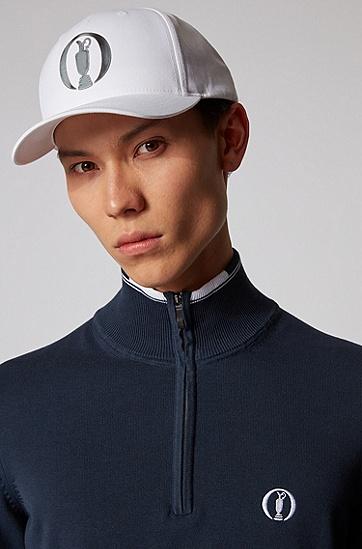 混棉斜纹 Open Exclusive 帽子,  100_白色