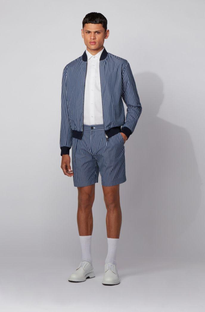 Regular-fit overhemd van katoen met een fijne dobbystructuur