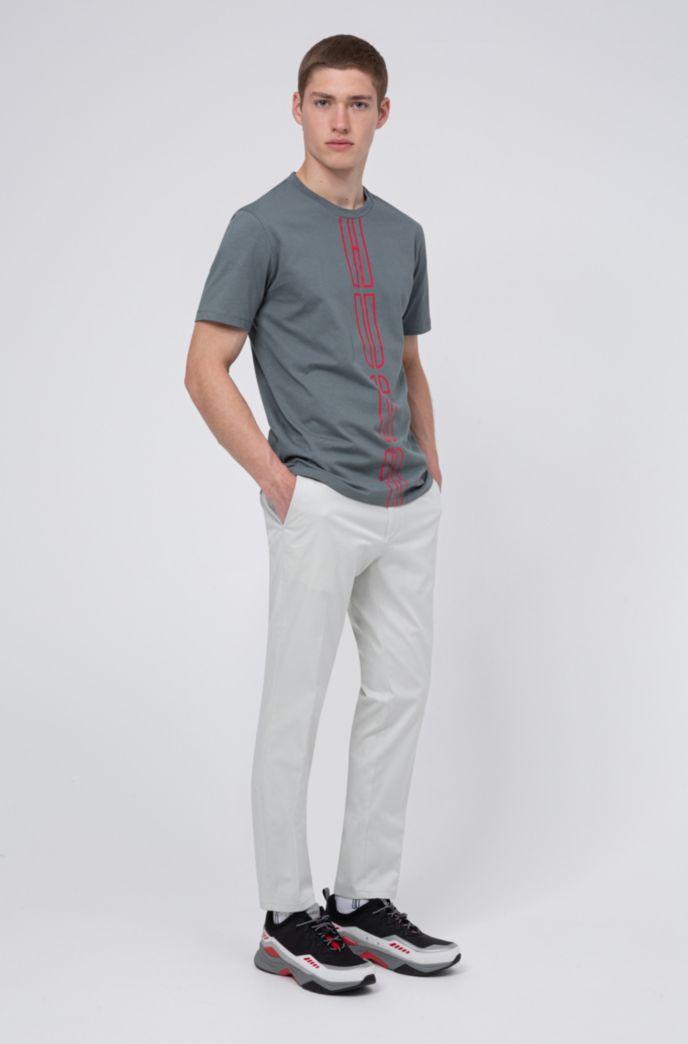 Uniseks T-shirt van milieuvriendelijke Recot2®-katoen met logoprint