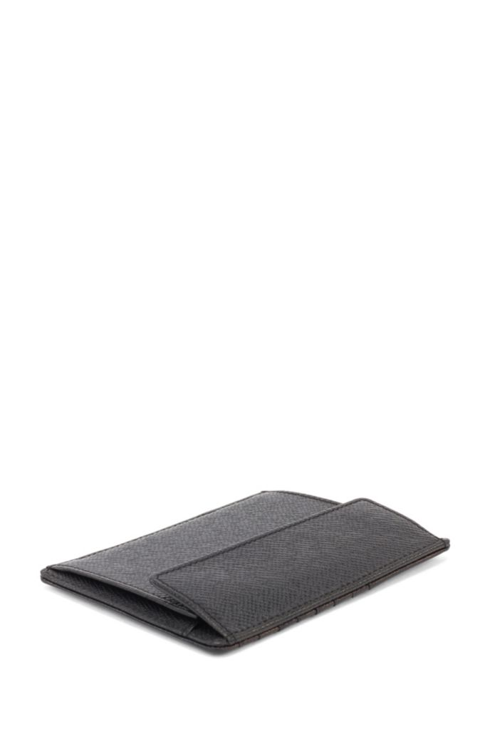 Signature Collection coin case in embossed leather