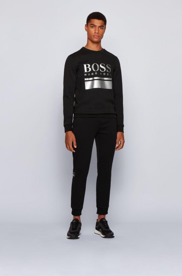 Pantalon de survêtement en jersey doubleface rehaussé de logos