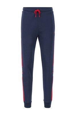 Pantalon de survêtement en jersey doubleface rehaussé de logos, Fantaisie