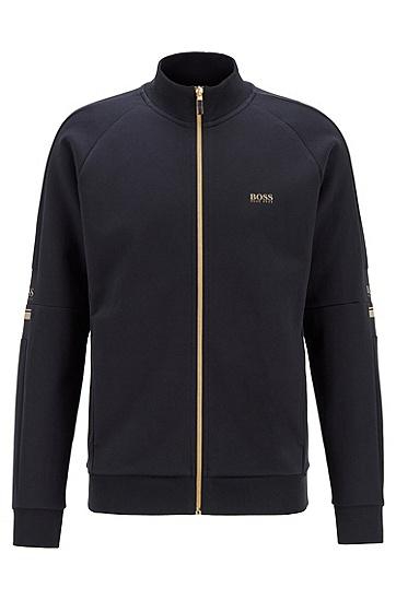 男士常规版型夹克,  402_暗蓝色