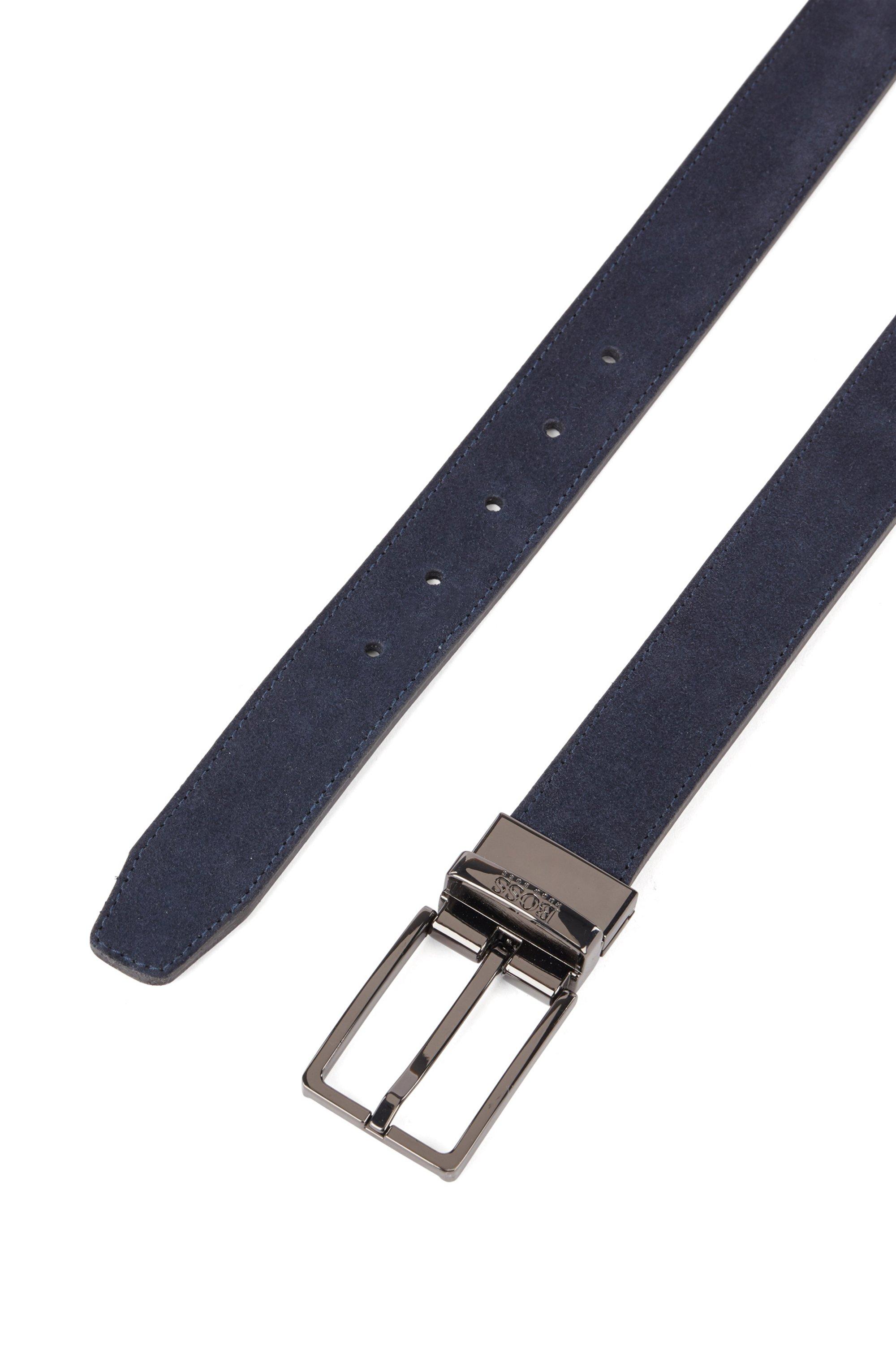Wendegürtel aus italienischem Leder