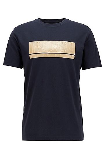 标准款标准长度休闲短袖,  402_暗蓝色