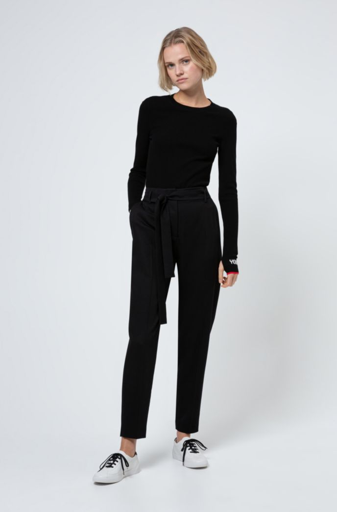 Relaxed-fit trousers in a TENCEL™ Lyocell blend