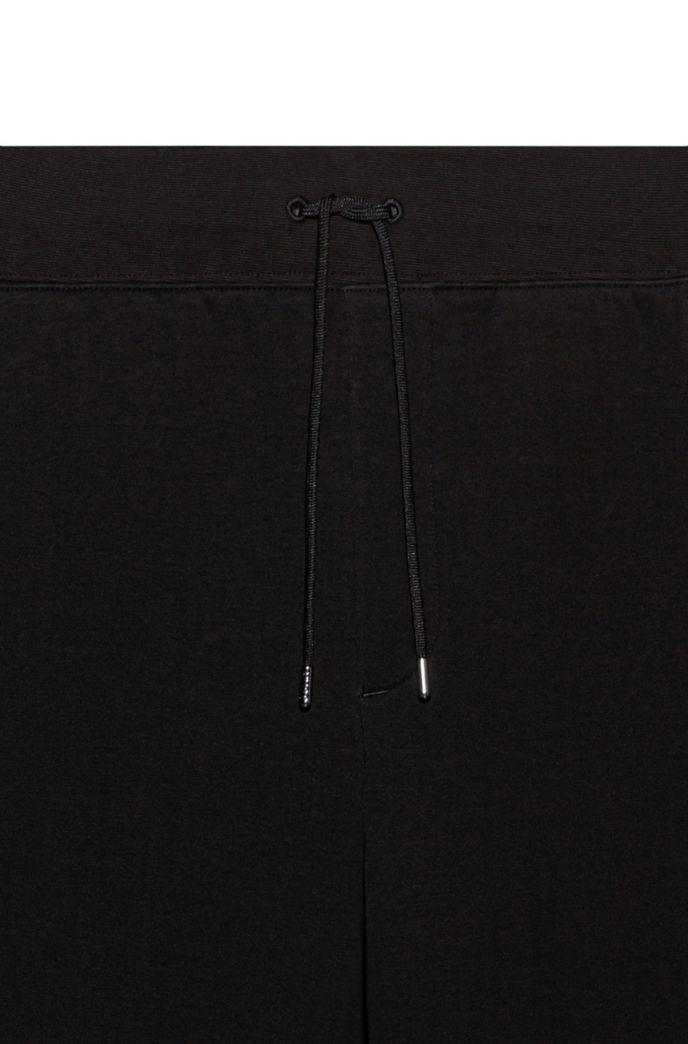 Joggingbroek van badstof van een katoenmix met ritszakken