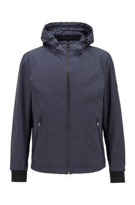 Three-in-one water-repellent jacket with detachable vest, Dark Blue
