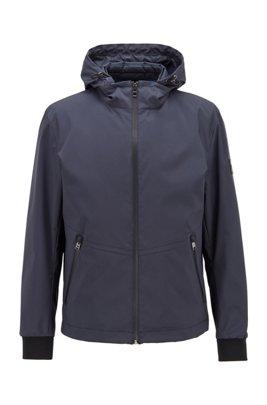Waterafstotende drie-in-één-jas met uitneembare bodywarmer, Donkerblauw