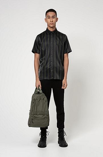 男士皮包,  309_暗绿色