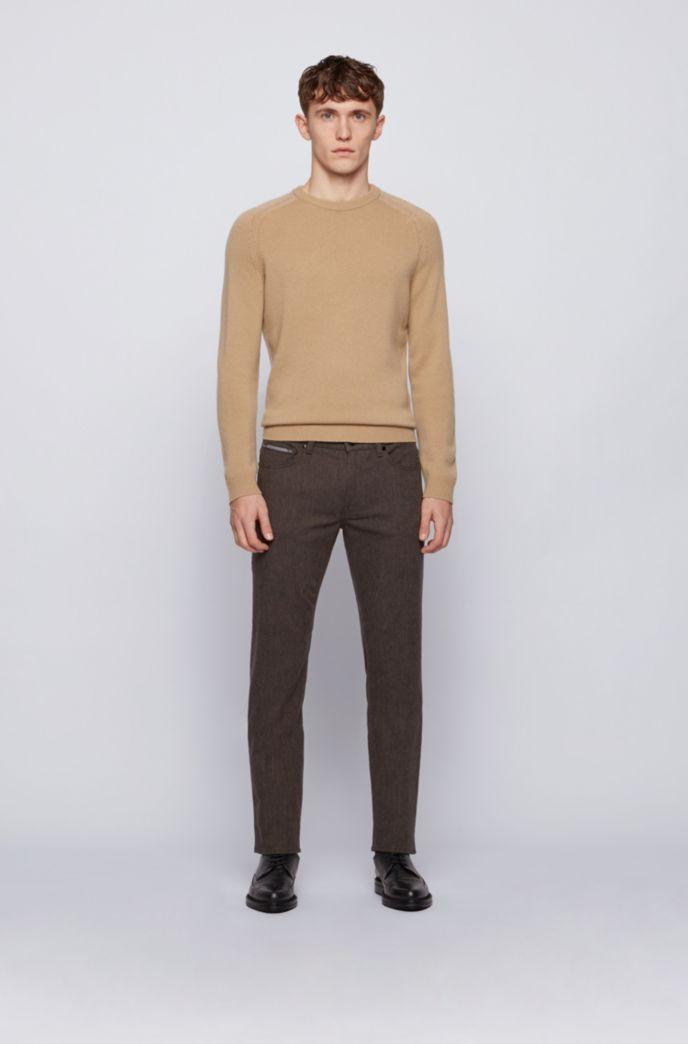 Regular-fit jeans in pinpoint comfort-stretch denim