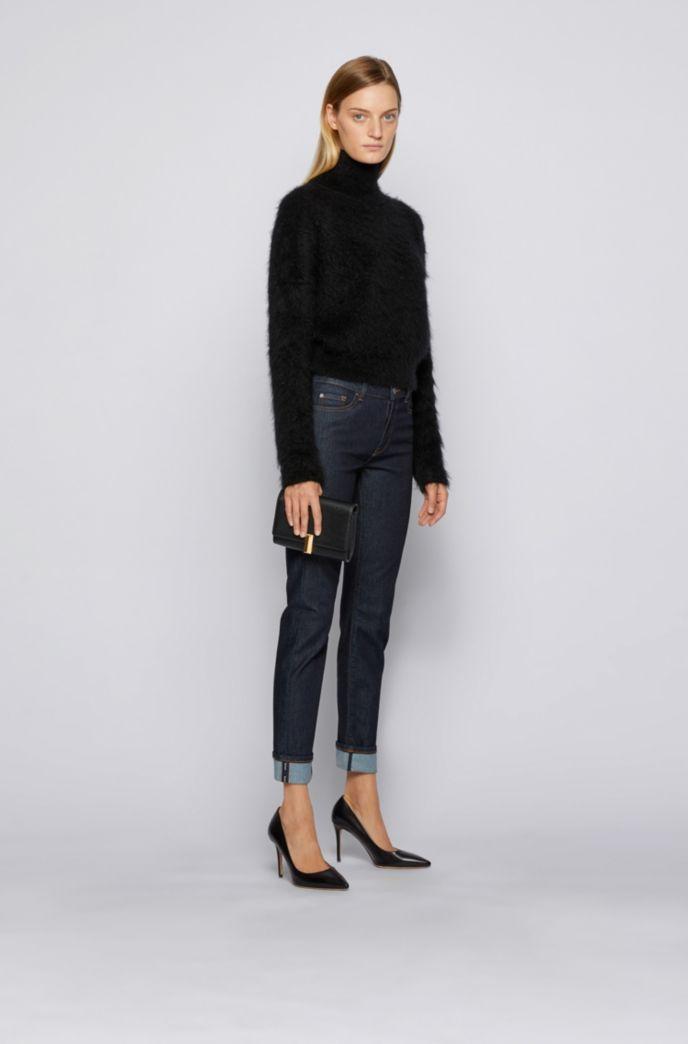Slim-Fit Jeans aus Denim mit Rinse-Waschung